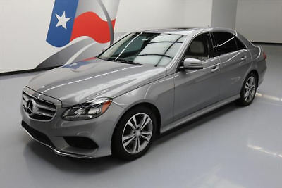 2015 Mercedes-Benz E-Class Base Sedan 4-Door 2015 MERCEDES-BENZ E350 SEDAN SPORT P1 SUNROOF NAV 39K #088911 Texas Direct Auto
