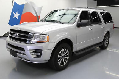 2015 Ford Expedition  2015 FORD EXPEDITION EL ECOBOOST 8-PASS NAV LEATHER 18K #F39989 Texas Direct