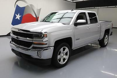 2017 Chevrolet Silverado 1500 LT Crew Cab Pickup 4-Door 2017 CHEVY SILVERADO TEXAS CREW LT NAV REAR CAM 20'S 7K #115379 Texas Direct
