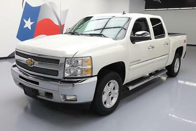2013 Chevrolet Silverado 1500 LT Crew Cab Pickup 4-Door 2013 CHEVY SILVERADO LT CREW Z71 LEATHER REAR CAM 50K #150943 Texas Direct Auto