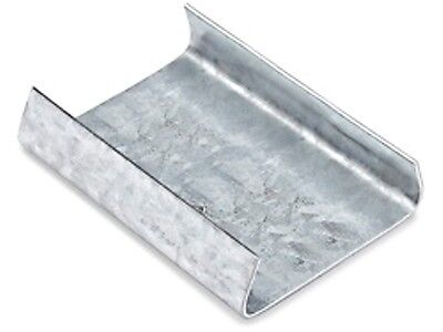 """1000 pieces 3/4"""" Galvanized Open Metal Seals for steel banding/strapping"""