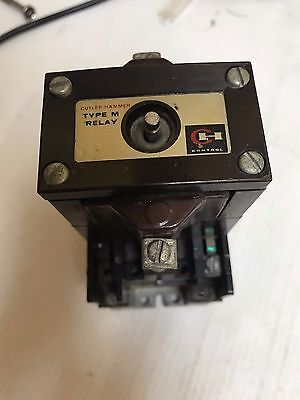 Cutler Hammer Relay D23MR402 LATCHED RELAY