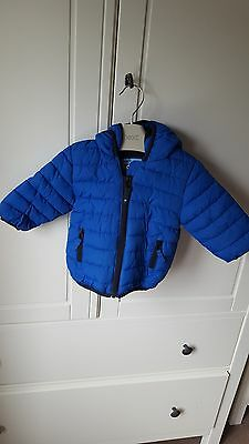 baby boys coat 3-6 months next blue