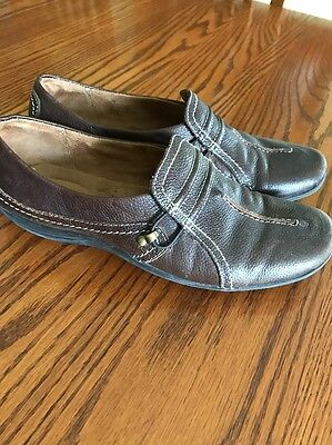 Women's Brown Leather Naturalizer Shoes Size 9