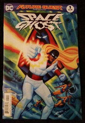 DC Comics SPACE GHOST issue number 1 October 2017 Parker/Olivetti