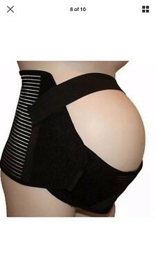 Maternity Support Band Black Size XL