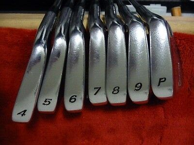 TaylorMade RAC MB FORGED Iron Set 3-PW RIFLE 6.0 SHAFTS 1* Upright