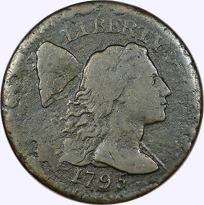 1795 Flowing Hair Large Cent   S-78