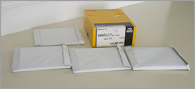 Kodak TMX 100 4052 100sht 4x5 Film – Box opened, inside 4 -25sht factory sealed