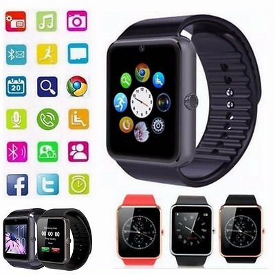 New 2017 GT08 Bluetooth Smart Watch Phone Wrist watch for Samsung and iPhone