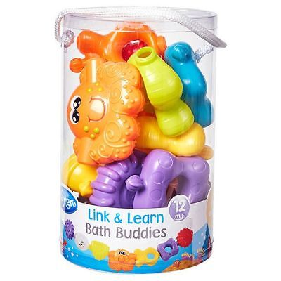 NEW Playgro Link And Learn Bath Buddies