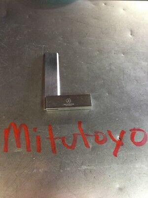 "Mitutoyo 3""  Machinists Toolmakers Micro Precision Square"