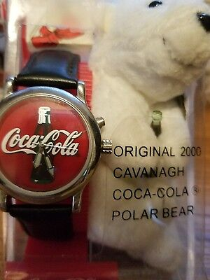 Vintage COCA COLA WATCH WITH THE COLA BEAR!! No lower price!!!