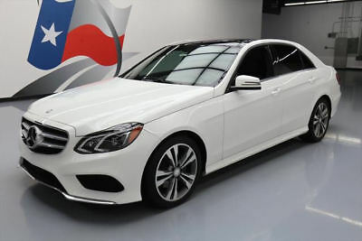 2015 Mercedes-Benz E-Class 4Matic Sedan 4-Door 2015 MERCEDES-BENZ E350 4MATIC AWD P1 PANO ROOF NAV 35K #095136 Texas Direct