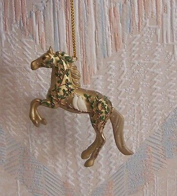 Trail Of The Painted Ponies Wonderful Season Of Peace Christmas Ornament