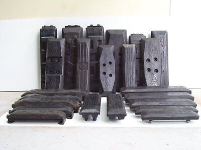 Excavator Rubber Pad 500mm bolt on