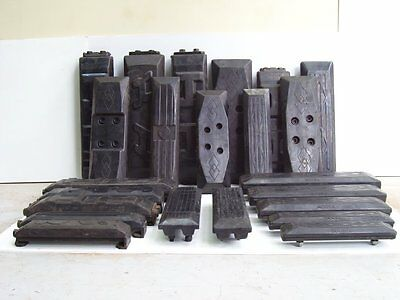 Excavator Rubber Pad 400mm bolt on