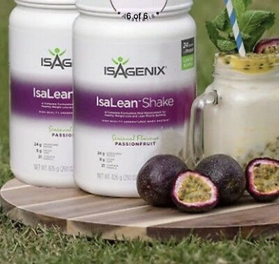 Isagenix 2X PASSIONFRUIT Shakes Sold Out FREE Express POST !!