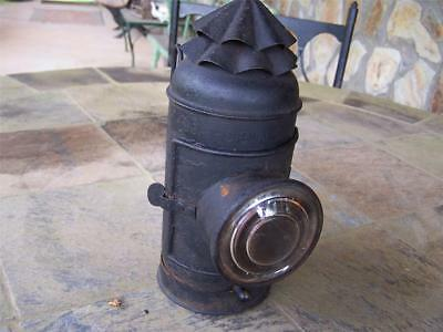 Antique Boat Signal Lantern, Signed and Complete