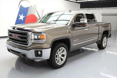 2015 GMC Sierra 1500  2015 GMC SIERRA SLT CREW 6.2L 4X4 LEATHER NAV 20'S 42K #449224 Texas Direct Auto