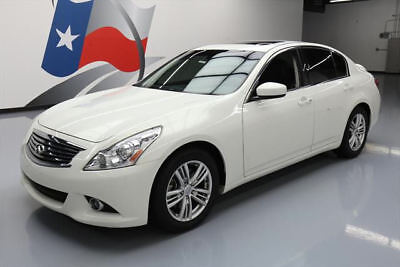 2013 Infiniti G37  2013 INFINITI G37 JOURNEY SEDAN PREMIUM SUNROOF NAV 39K #300024 Texas Direct