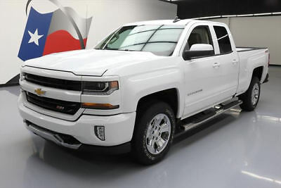 2016 Chevrolet Silverado 1500 LT Extended Cab Pickup 4-Door 2016 CHEVY SILVERADO LT DOUBLE CAB Z71 4X4 LEATHER 29K #227264 Texas Direct Auto