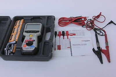 Megger MIT481 Telecom Insulation and Continuity Tester With Extras Must See!!!