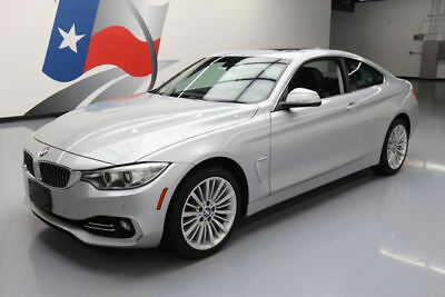 2014 BMW 4-Series Base Coupe 2-Door 2014 BMW 428I XDRIVE COUPE AWD LUX LINE SUNROOF NAV 45K #245691 Texas Direct