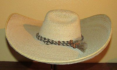 Vintage Mexican  Sombrero With Horse Hair Band
