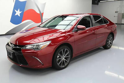 2015 Toyota Camry  2015 TOYOTA CAMRY XSE LEATHER SUNROOF NAV REAR CAM 30K #896330 Texas Direct Auto