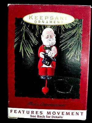 1993 Hallmark Christmas Ornament, Santa Pulling Rabbit From Hat