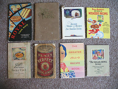 Vintage Booklets: Perfection Stove Co Brer Rabbit Blatz Advertising LOT Cookbook