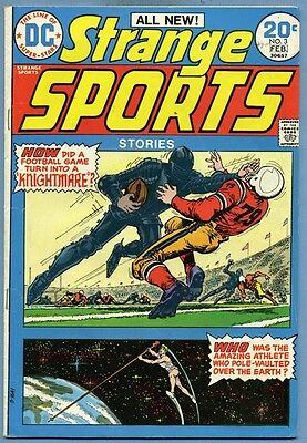 Strange Sports Stories #3 1974 Curt Swan Dick Giordano DC Comics