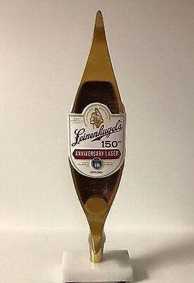 Leinenkugel's 150th Anniversary Lager Canoe Tap Handle ~ * NEW in BOX * ~ 13.5""