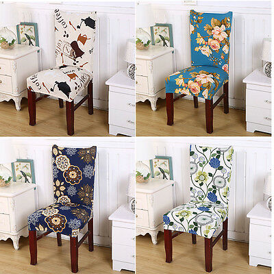 Dining Chair Covers Dining Room Chair Protector Slipcover Decor Spandex Strech