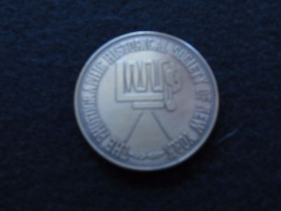 Photographic Historical Society Of New York Bronze Medal 1968 -1978