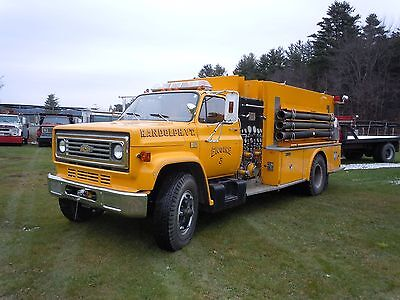 1981 Chevrolet Middlesex pumper Fire truck  with 14k miles (one owner)