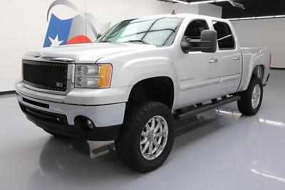 "2013 GMC Sierra 1500 SLE Crew Cab Pickup 4-Door 2013 GMC SIERRA SLE CREW LIFTED LEATHER 35"" TIRES 76K #108146 Texas Direct Auto"