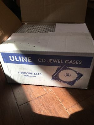4200 ULINE STANDARD Clear CD Jewel Cases BRAND NEW IN THE BOX!!