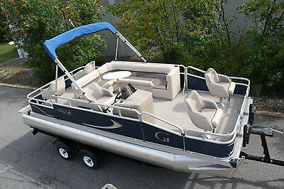 Factory direct pontoon boats-New 20 ft Grand Island Partyfish
