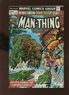 Man-Thing 3 VF 8.0 * 1 Book Lot * The Gong of Doom!