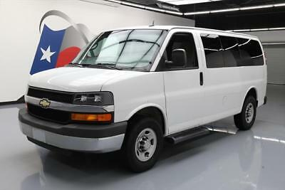 2015 Chevrolet Express Base Standard Cargo Van 3-Door 2015 CHEVY EXPRESS LT 2500 10PASS VAN POOL REAR CAM 47K #139196 Texas Direct