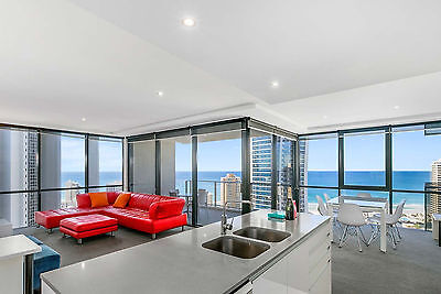 GOLD COAST ACCOMMODATION Circle Apartments on Cavill 2 Bed Oceanside 5nts $950