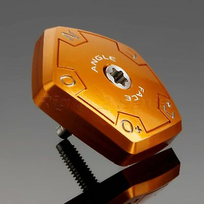 Replacement Gold Adjustable Aluminium Sole Plate for TaylorMade R11s Golf Driver