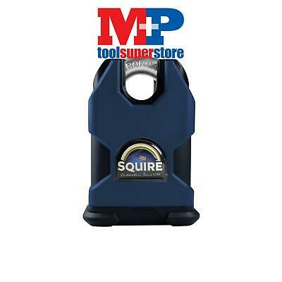 Henry Squire SS80CS SS80S Stronghold Solid Steel Padlock 80mm Closed Shackle CEN