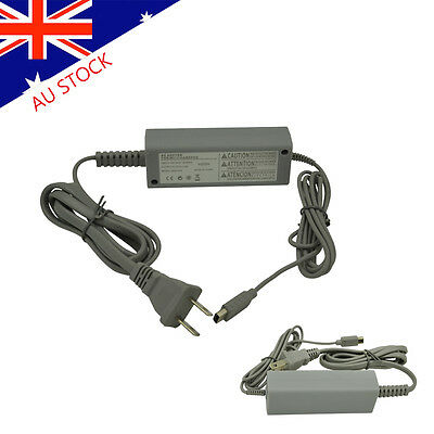 AC Adapter For Nintendo Wii U Gamepad - Charging Cable / Cord Conveniently