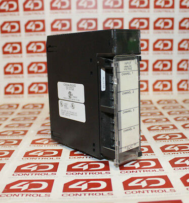 GE Fanuc IC693ALG220D Voltage Analog Input 4 Channel - Used