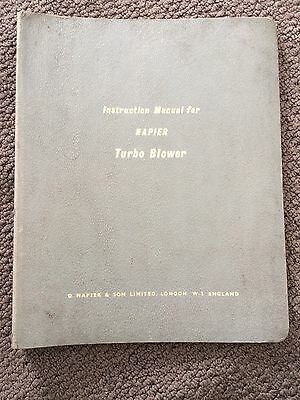 Napier Turbo Blower Manual MS100 & HP100