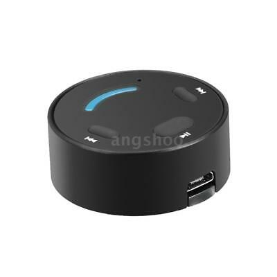 Wireless Bluetooth 3.5mm AUX Audio Stereo Music Home Car Receiver Adapter P4T1