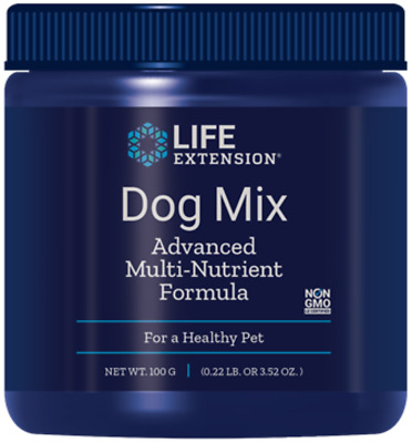 2X $13 Life Extension Dog Mix Powder healthy pet multinutrient dog supplement
